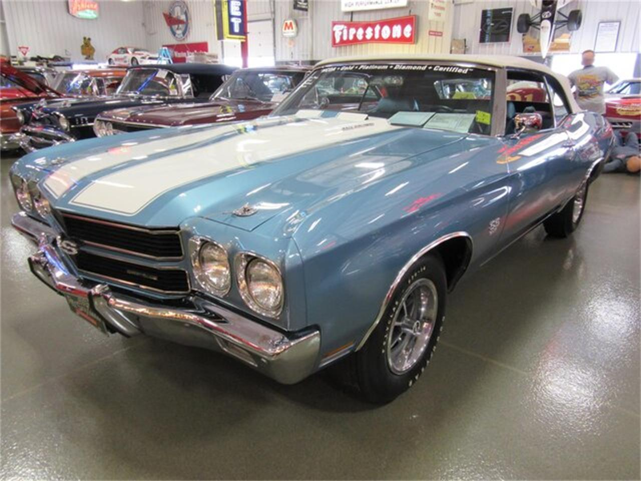 Large Picture of '70 Chevrolet Chevelle SS Auction Vehicle Offered by Ray Skillman Classic Cars - PRQB