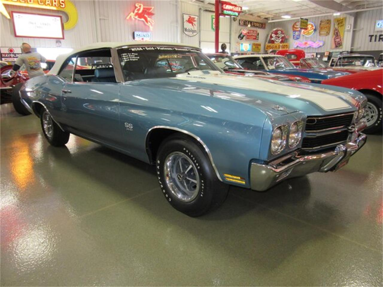 Large Picture of '70 Chevelle SS located in Indiana Auction Vehicle Offered by Ray Skillman Classic Cars - PRQB