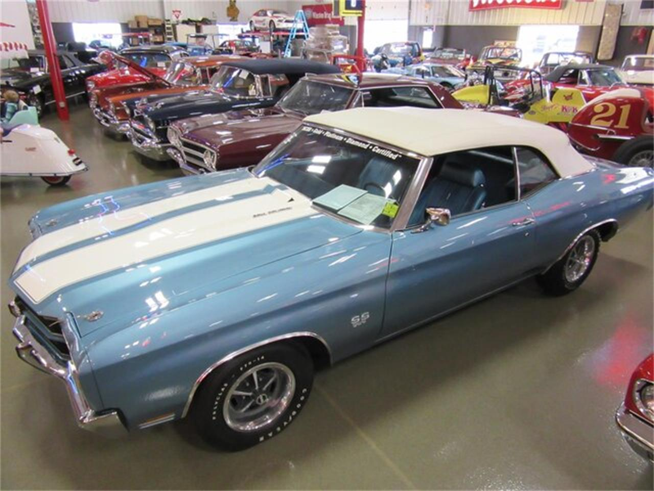 Large Picture of '70 Chevrolet Chevelle SS located in Greenwood Indiana Offered by Ray Skillman Classic Cars - PRQB