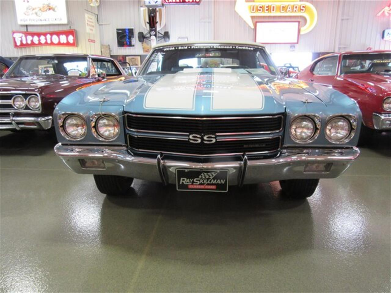 Large Picture of Classic 1970 Chevrolet Chevelle SS Offered by Ray Skillman Classic Cars - PRQB