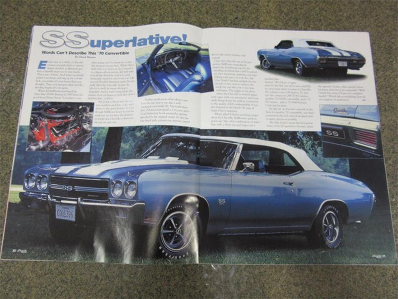 Large Picture of 1970 Chevelle SS Auction Vehicle - PRQB