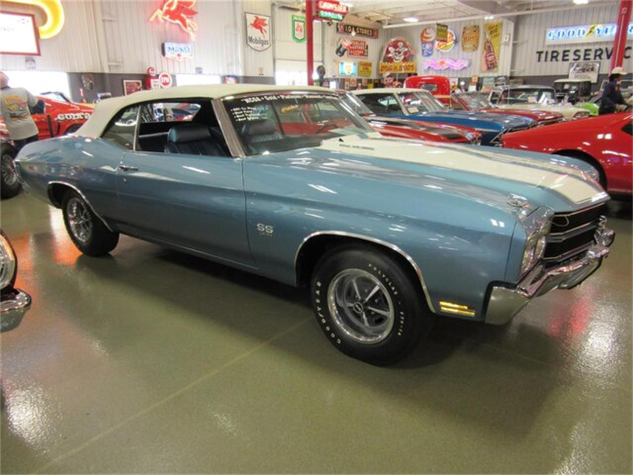 Large Picture of '70 Chevelle SS located in Greenwood Indiana Offered by Ray Skillman Classic Cars - PRQB