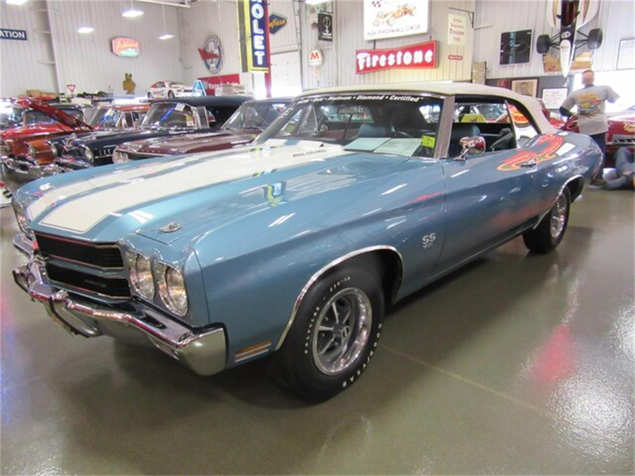 Large Picture of 1970 Chevrolet Chevelle SS located in Indiana - PRQB