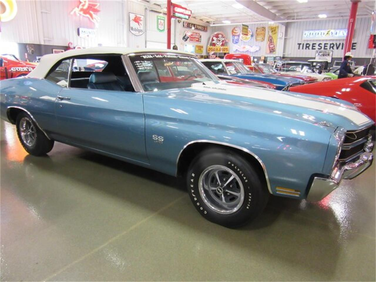 Large Picture of 1970 Chevrolet Chevelle SS located in Indiana Offered by Ray Skillman Classic Cars - PRQB