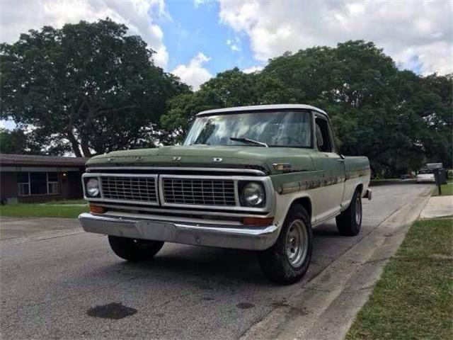 Picture of Classic 1970 Ford F100 located in Michigan - $6,795.00 - PRRA