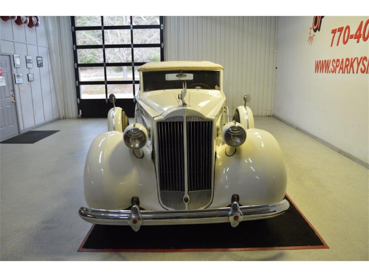 Large Picture of '37 Packard Super 8 Victoria - PRVA