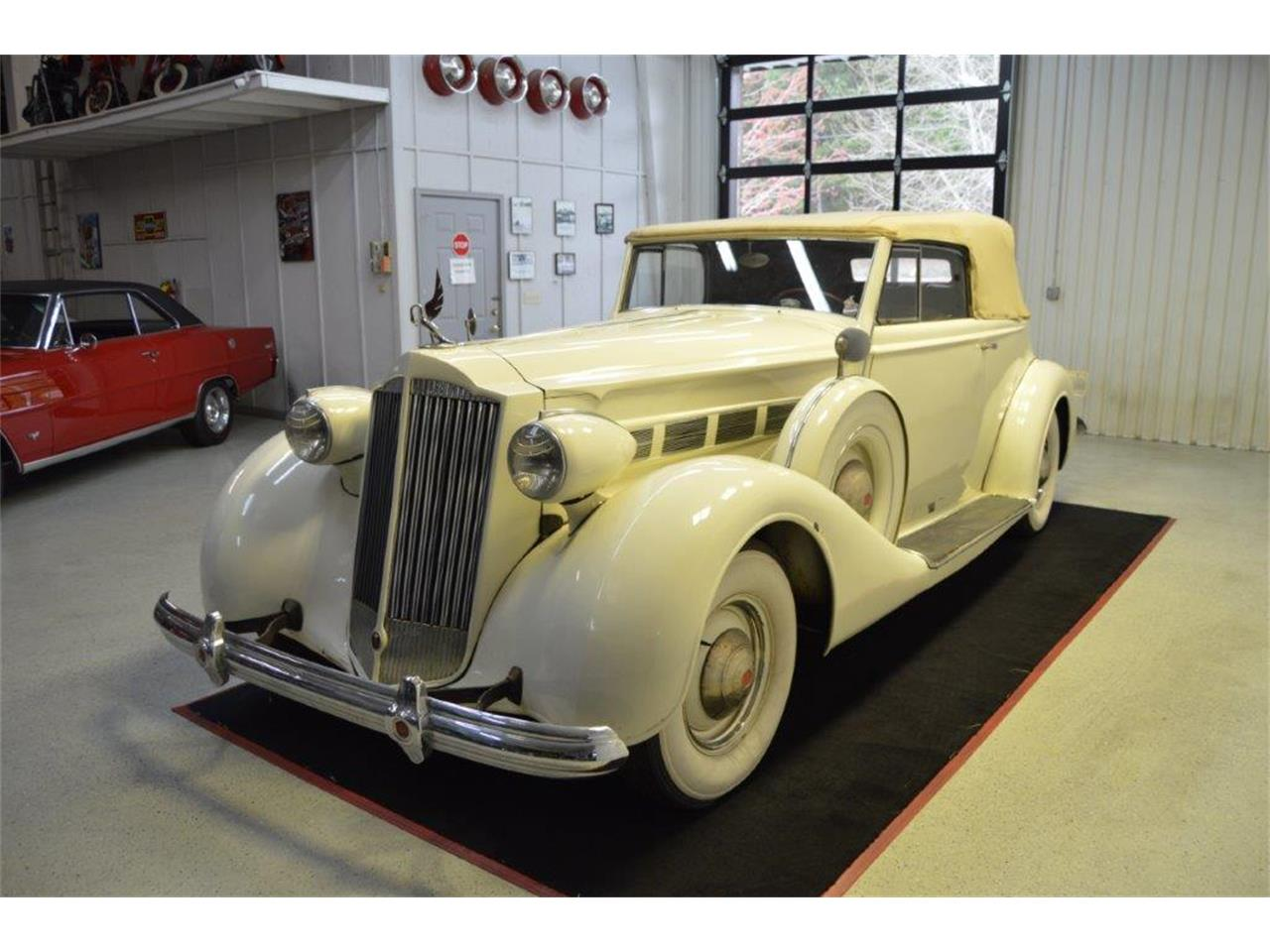 Large Picture of Classic '37 Packard Super 8 Victoria - PRVA