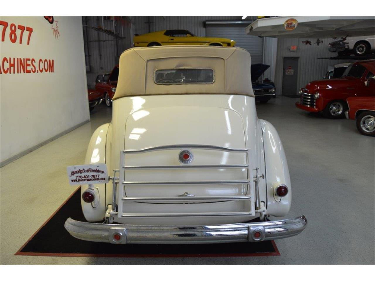 Large Picture of 1937 Packard Super 8 Victoria Offered by Sparky's Machines - PRVA