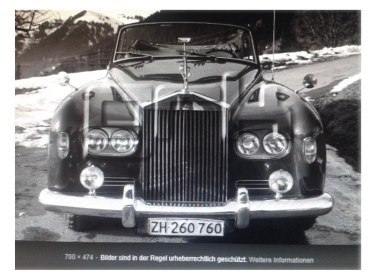 Large Picture of '64 Silver Cloud III - PS31