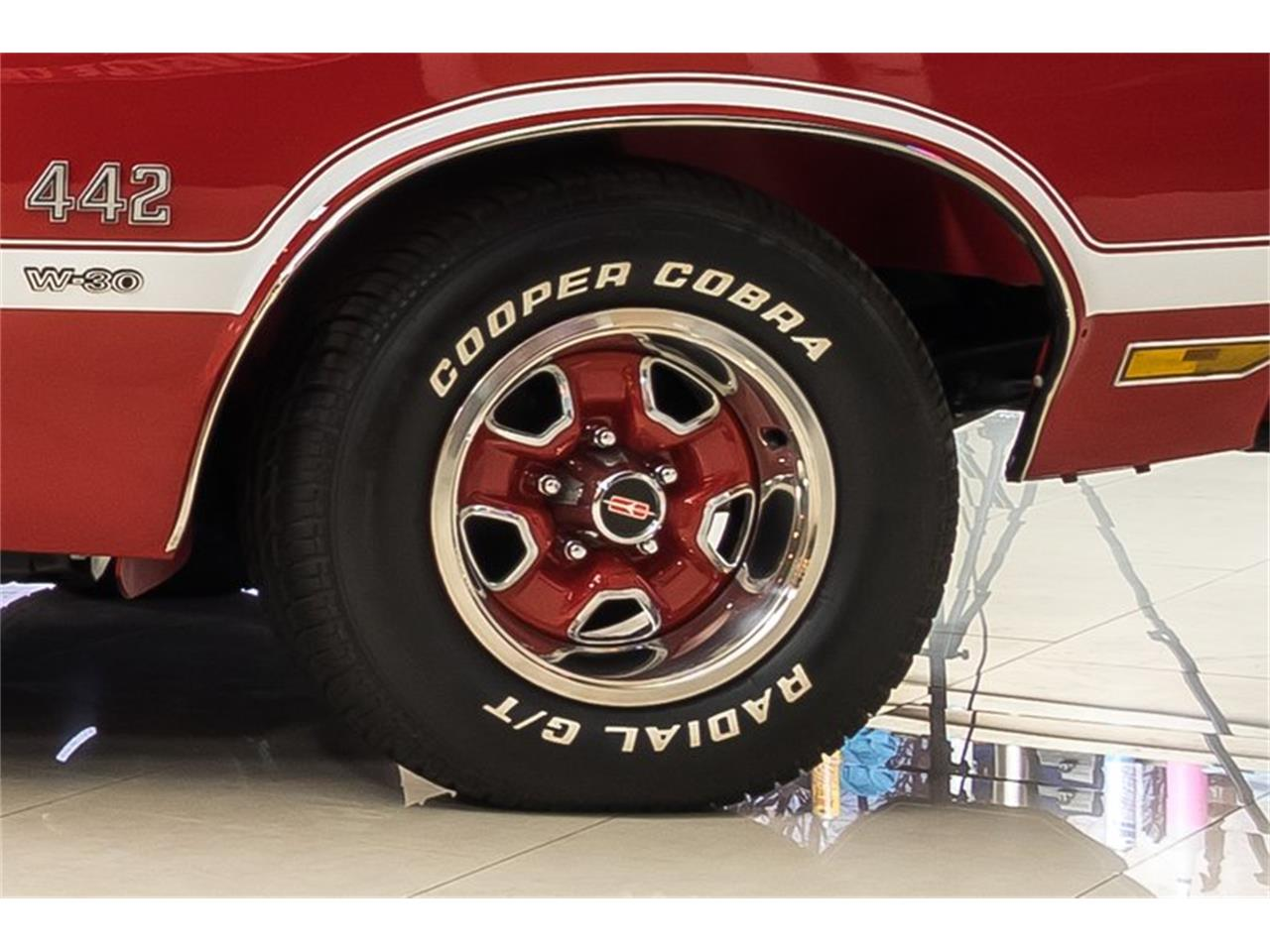 Large Picture of '70 Oldsmobile 442 located in Michigan Offered by Vanguard Motor Sales - PS50