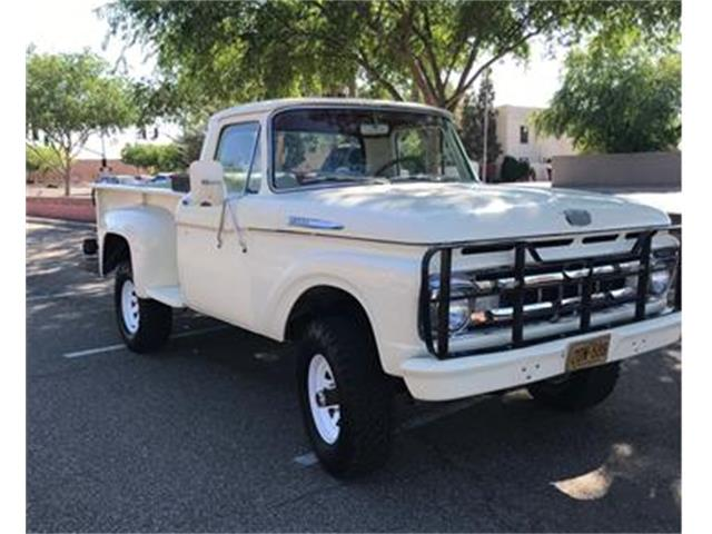 Picture of Classic 1961 F100 located in Glendale Arizona - PS8F
