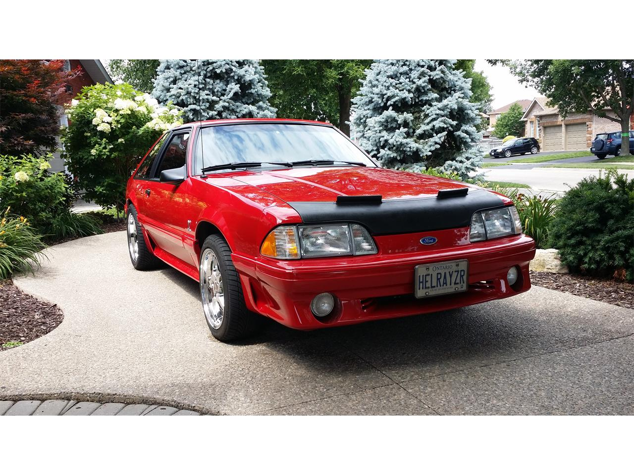 Large Picture of '87 Ford Mustang Cobra located in Ontario Offered by a Private Seller - PSFC
