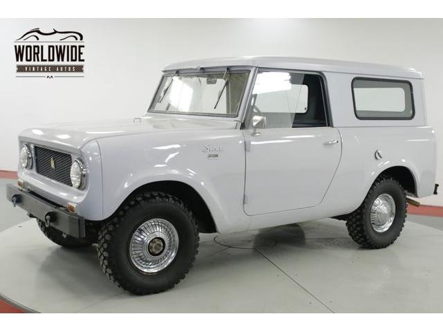 1963 International Scout 80