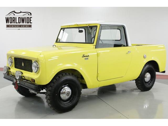 Picture of Classic '62 International Scout 80 located in Denver  Colorado - $19,900.00 - PSGB