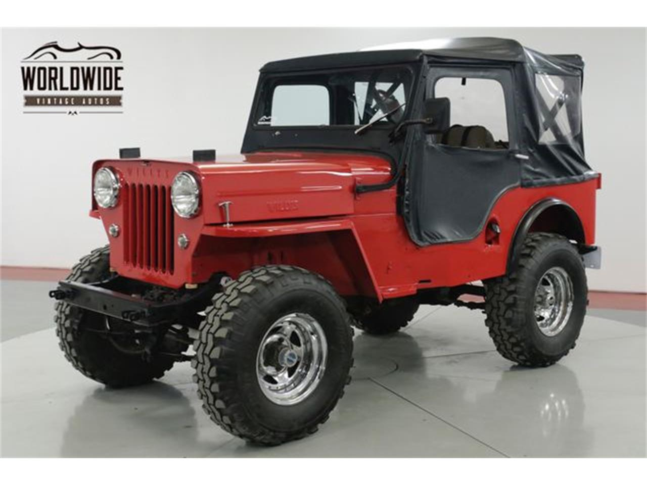 Large Picture of Classic 1962 Willys Jeep located in Denver  Colorado Offered by Worldwide Vintage Autos - PSGE