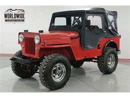 Picture of Classic '62 Willys Jeep located in Denver  Colorado - PSGE