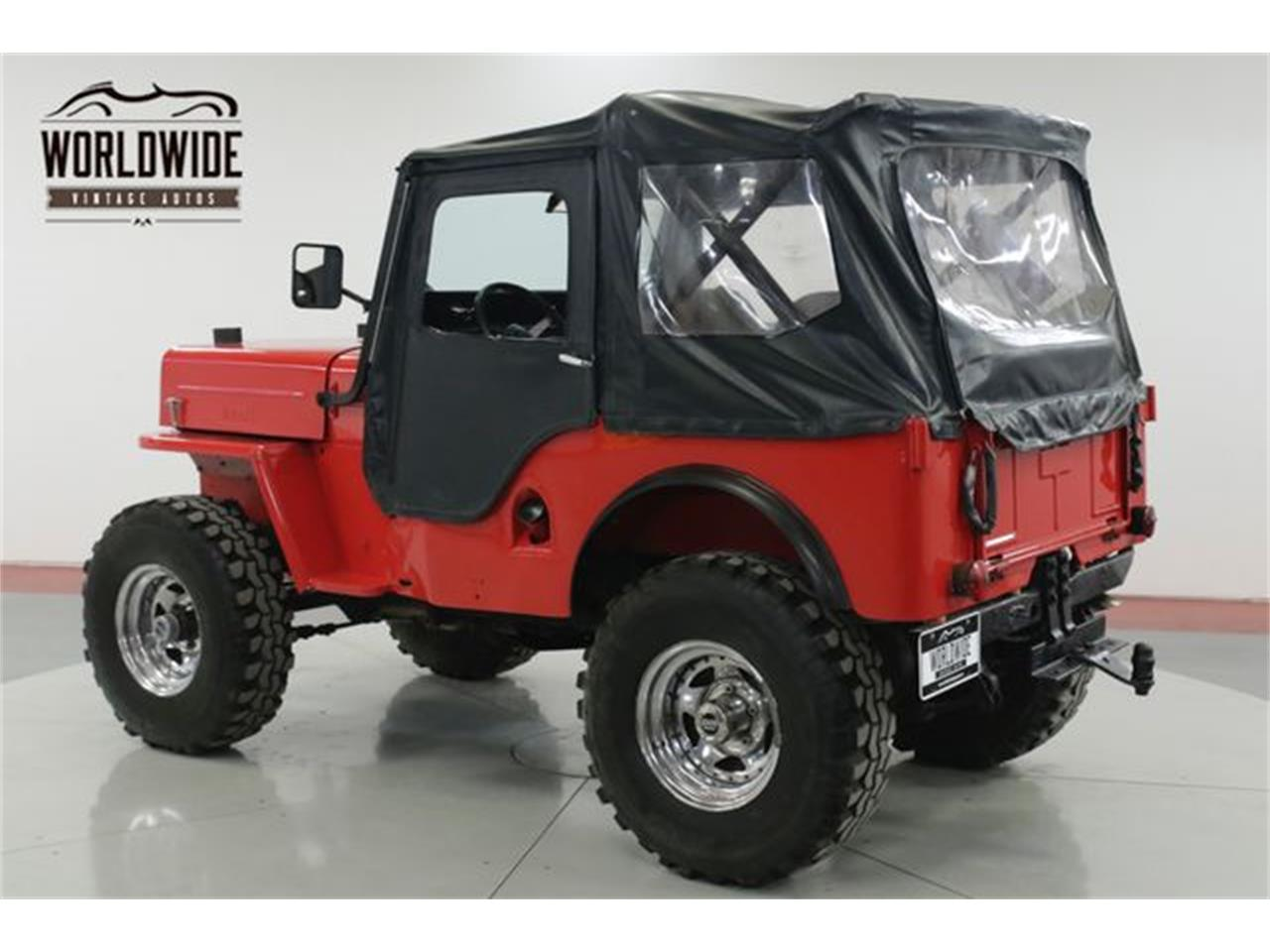 Large Picture of Classic 1962 Willys Jeep located in Colorado Offered by Worldwide Vintage Autos - PSGE