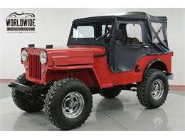 Picture of '62 Willys Jeep located in Colorado - $12,900.00 - PSGE