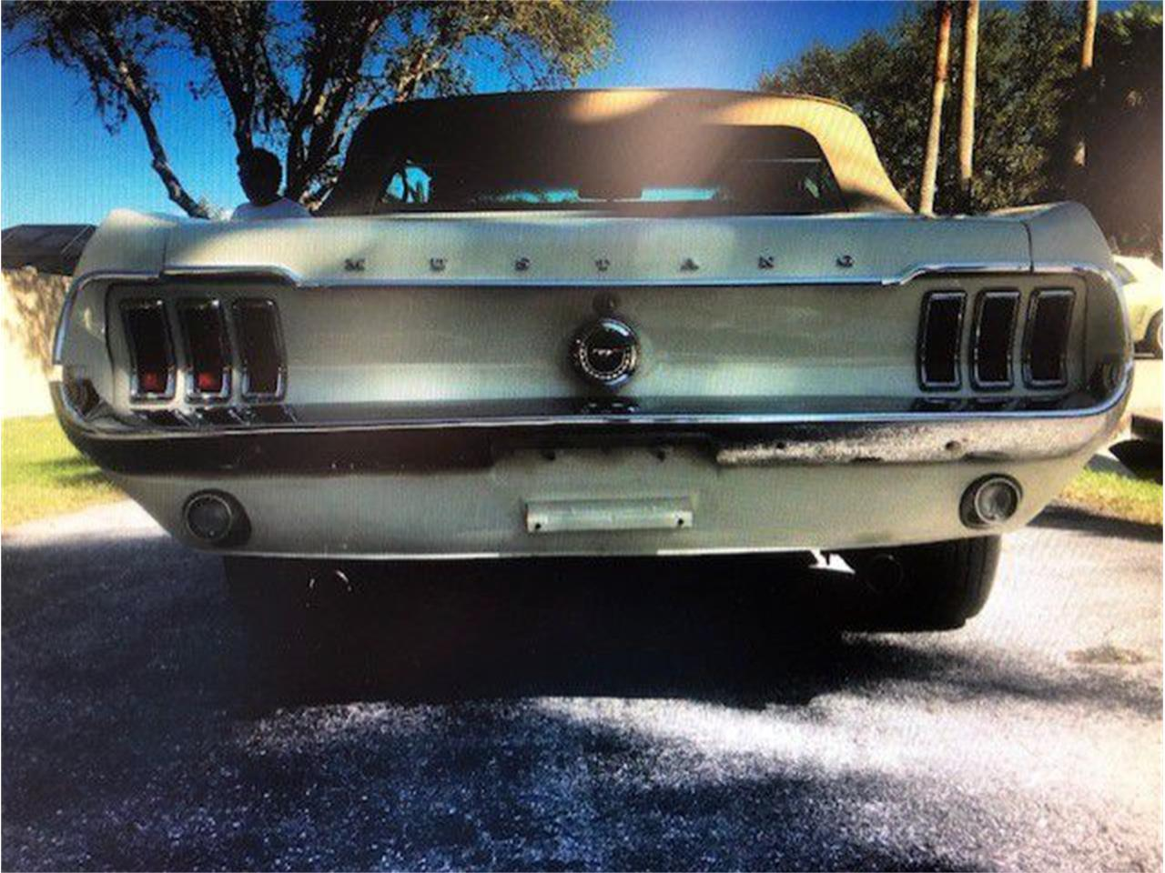 Large Picture of '68 Mustang - PSVN