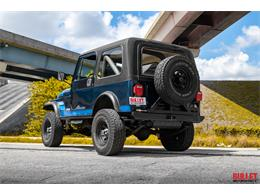 Picture of 1983 Jeep CJ7 located in Fort Lauderdale Florida Offered by Bullet Motorsports Inc - PSWH