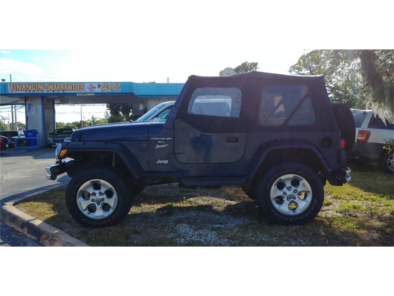 Large Picture of '00 Jeep Wrangler located in Florida - $9,250.00 Offered by Seth Lee Auto Sales - PT3J
