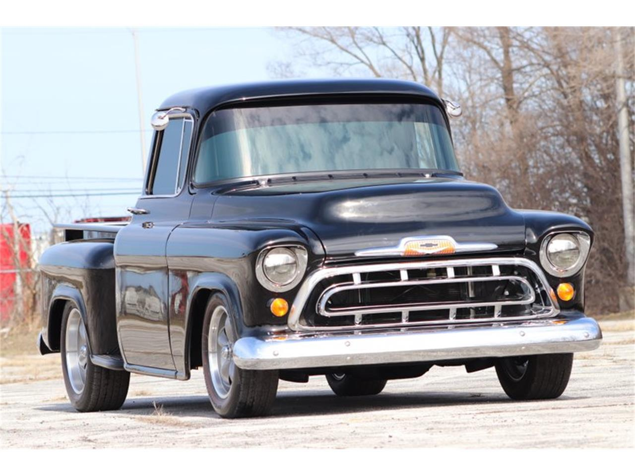 Large Picture of '57 Chevrolet 3100 located in Alsip Illinois Offered by Midwest Car Exchange - PT7T