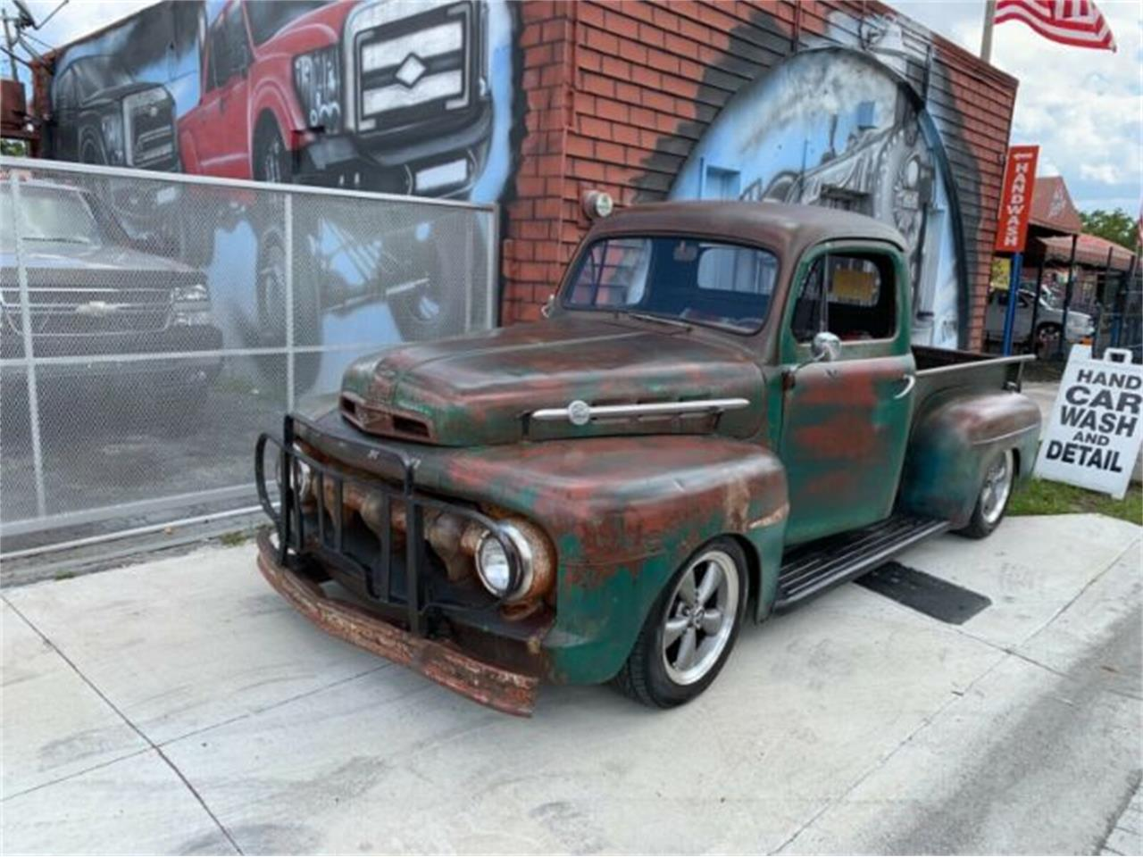 Large Picture of Classic 1951 Ford F100 located in Cadillac Michigan - $40,995.00 Offered by Classic Car Deals - PTCJ