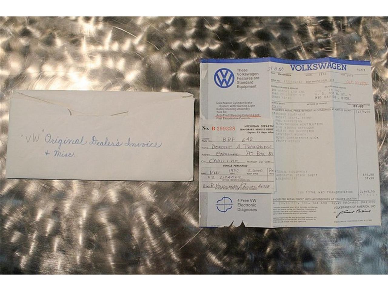 Large Picture of 1972 Volkswagen Super Beetle Offered by GR Auto Gallery - PTI6