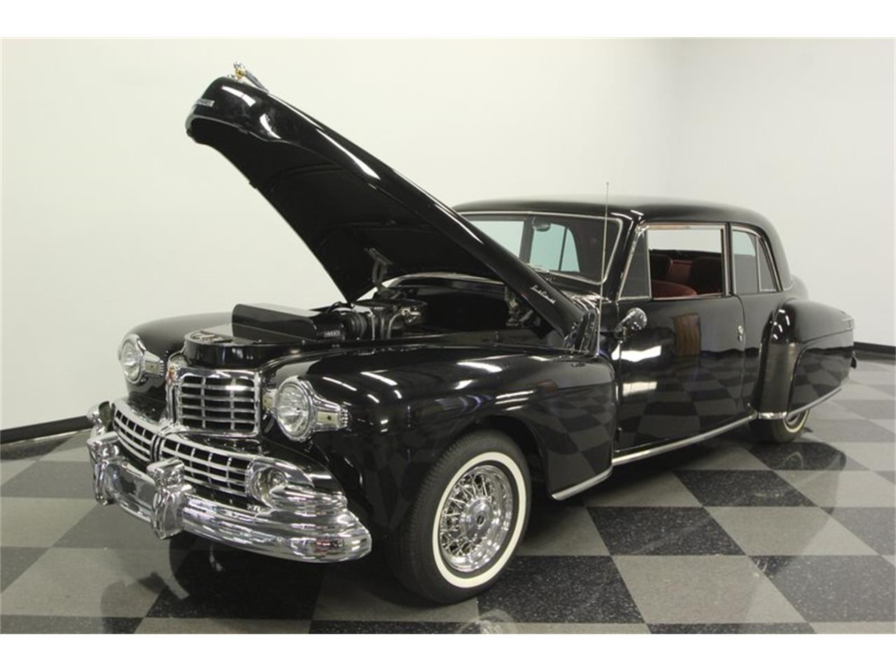 Large Picture of Classic '48 Lincoln Continental located in Lutz Florida - $26,995.00 Offered by Streetside Classics - Tampa - PTJ9
