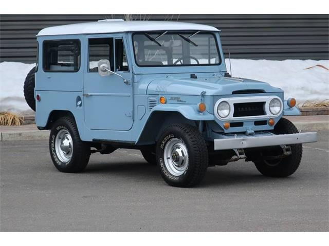 classic toyota land cruiser for sale on classiccars com1969 toyota land cruiser fj
