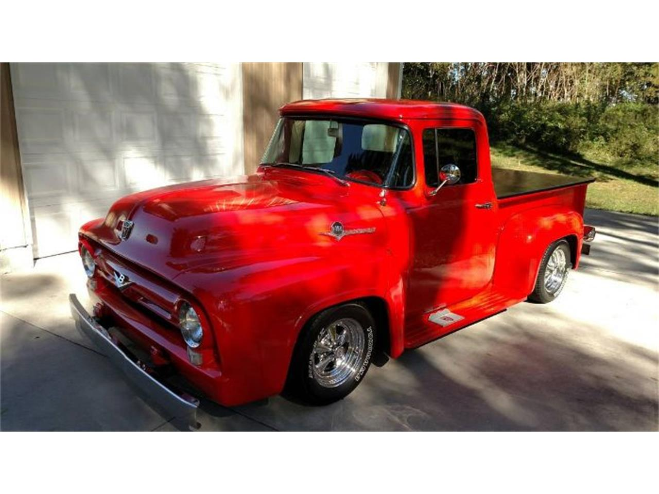 Large Picture of '56 F100 located in Michigan - PTV5