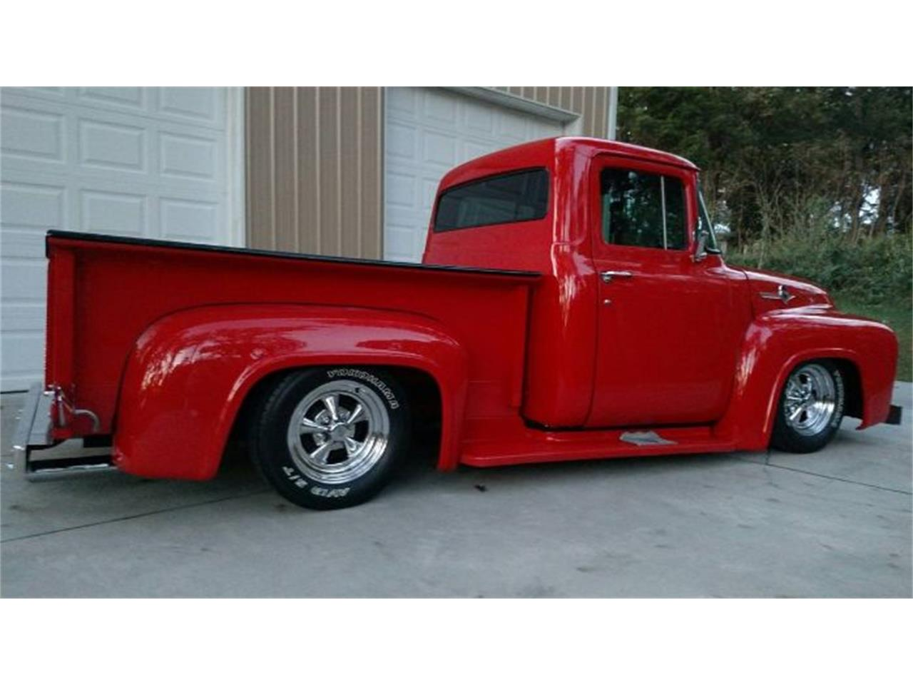 Large Picture of 1956 F100 located in Cadillac Michigan Offered by Classic Car Deals - PTV5