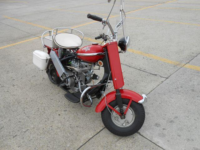 1957 Cushman Motorcycle
