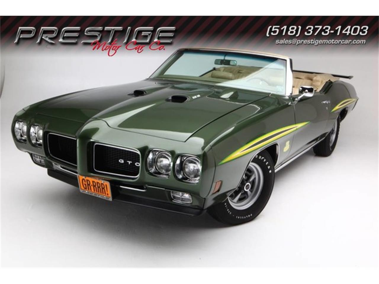 Large Picture of 1970 Pontiac GTO (The Judge) located in New York - PU25