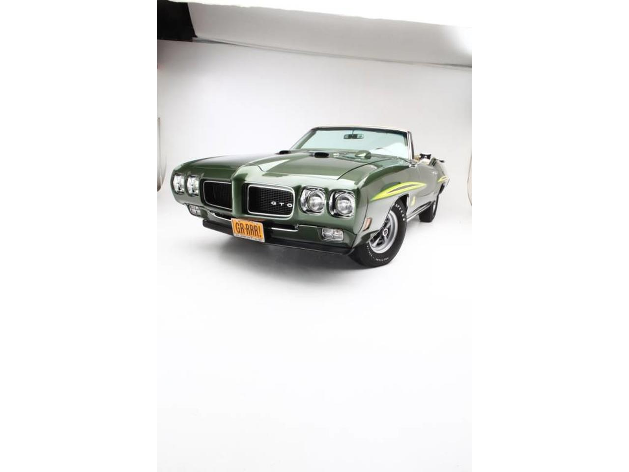 Large Picture of Classic '70 Pontiac GTO (The Judge) located in Clifton Park New York Offered by Prestige Motor Car Co. - PU25