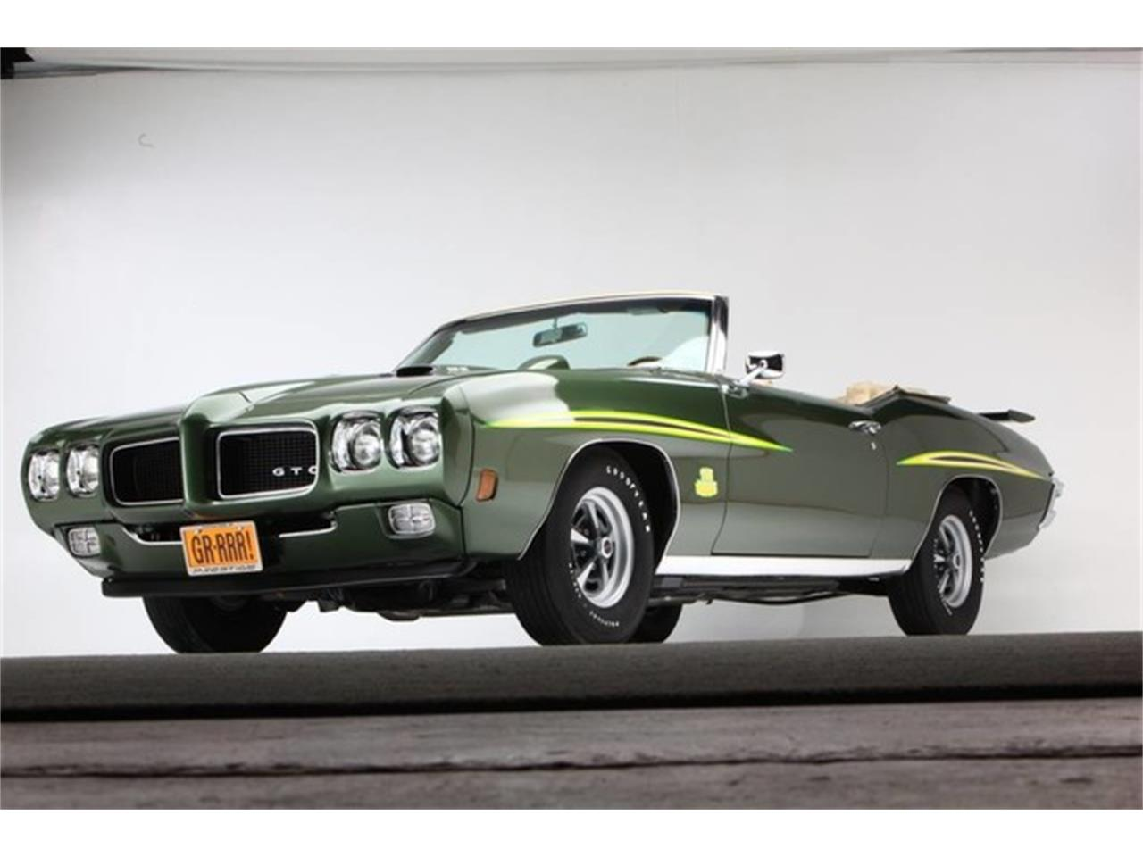 Large Picture of Classic '70 GTO (The Judge) located in New York Offered by Prestige Motor Car Co. - PU25
