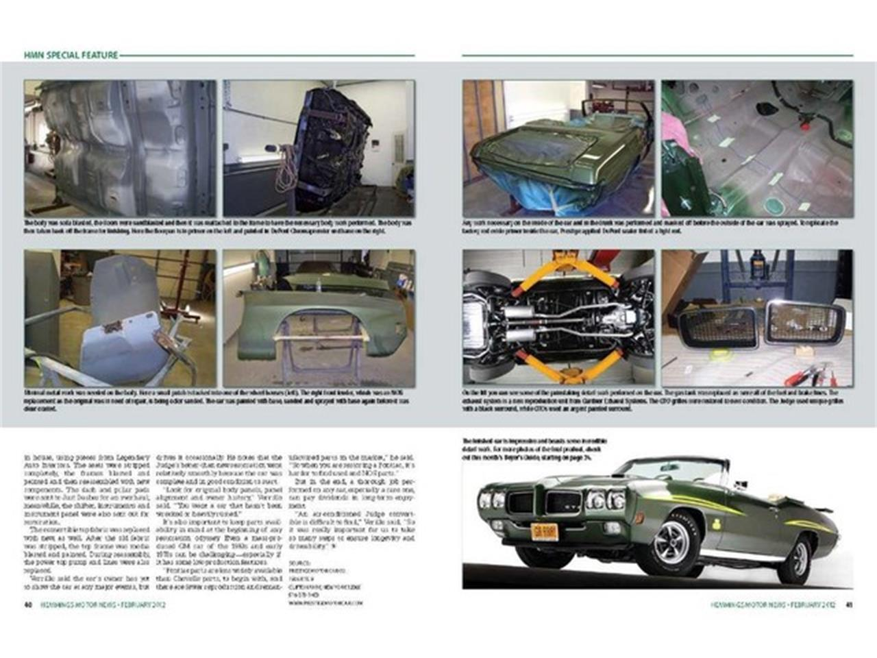 Large Picture of 1970 Pontiac GTO (The Judge) located in Clifton Park New York - $219,000.00 - PU25