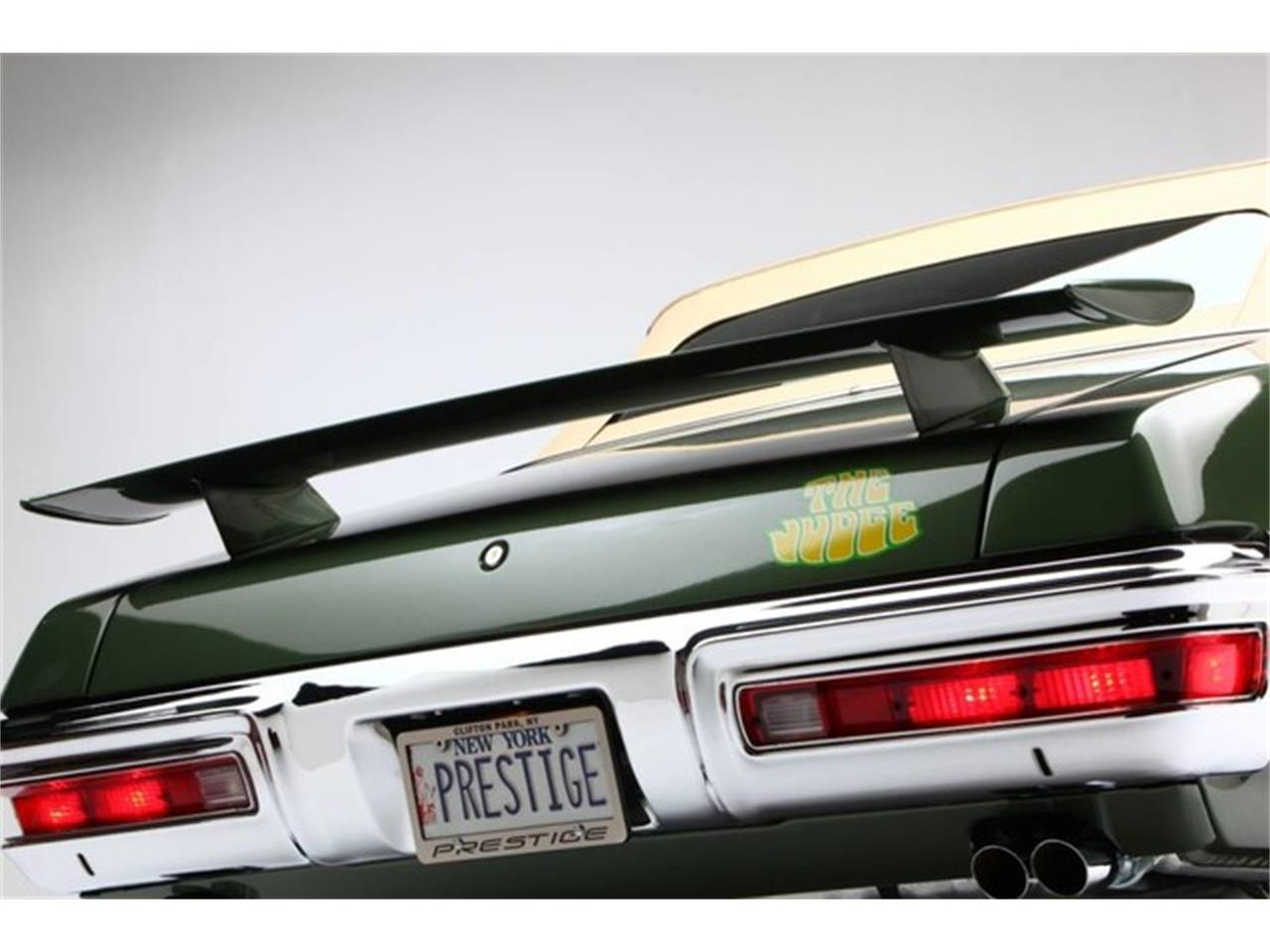 Large Picture of Classic '70 Pontiac GTO (The Judge) located in Clifton Park New York - PU25