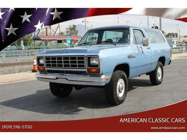 Classic Dodge Ramcharger For Sale On Classiccars Com