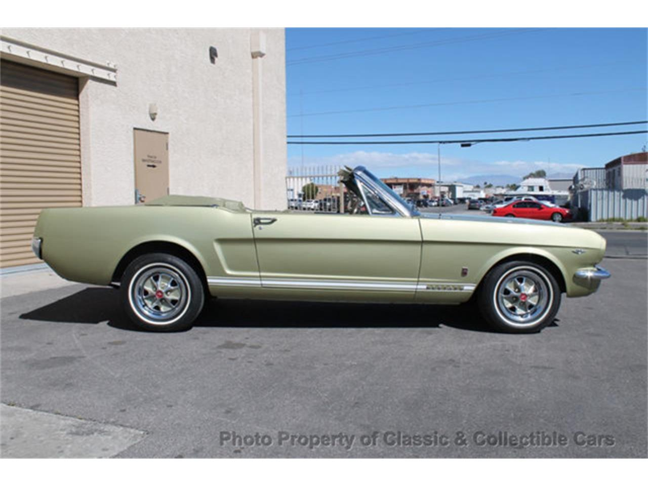 Large Picture of '65 Mustang located in Las Vegas Nevada Offered by Classic and Collectible Cars - PULV