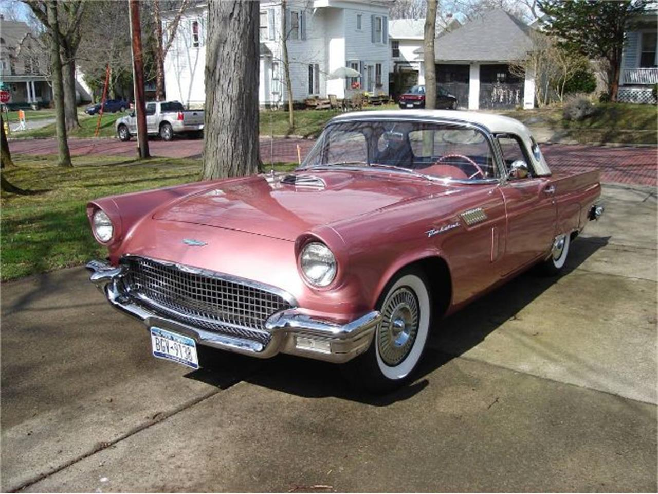 For Sale 1957 Ford Thunderbird In Cadillac Michigan