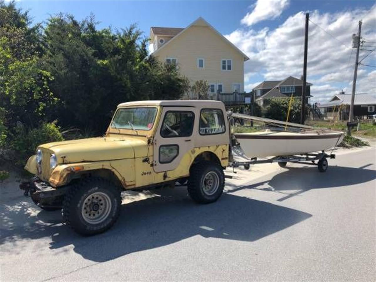 Large Picture of '76 Jeep CJ5 located in Cadillac Michigan - $6,395.00 - PUMJ