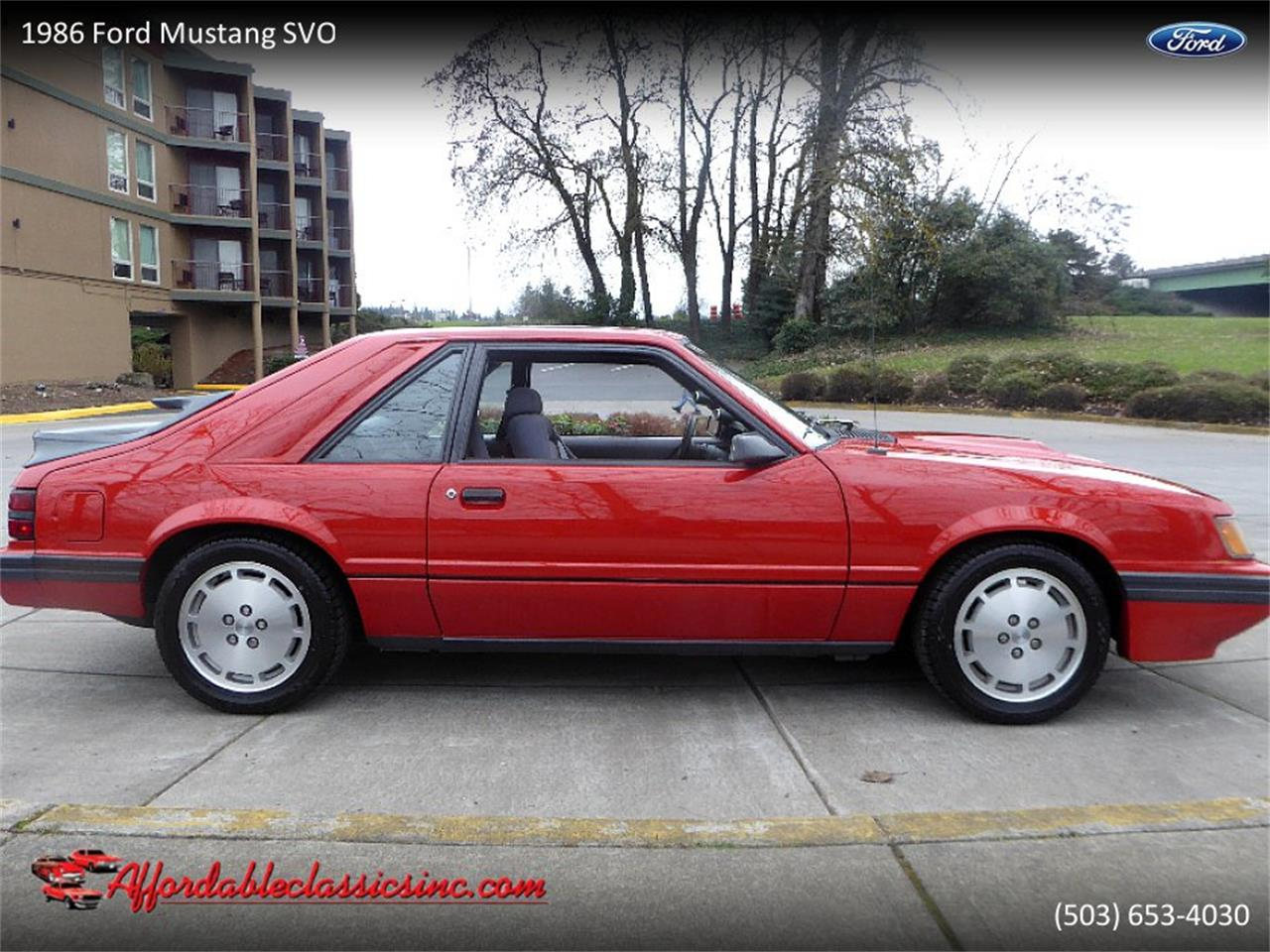 Large Picture of '86 Mustang SVO - PUOE
