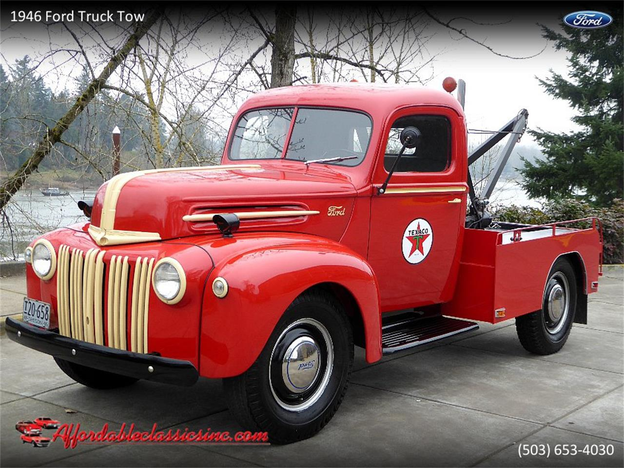 For Sale: 1946 Ford Tow Truck in Gladstone, Oregon