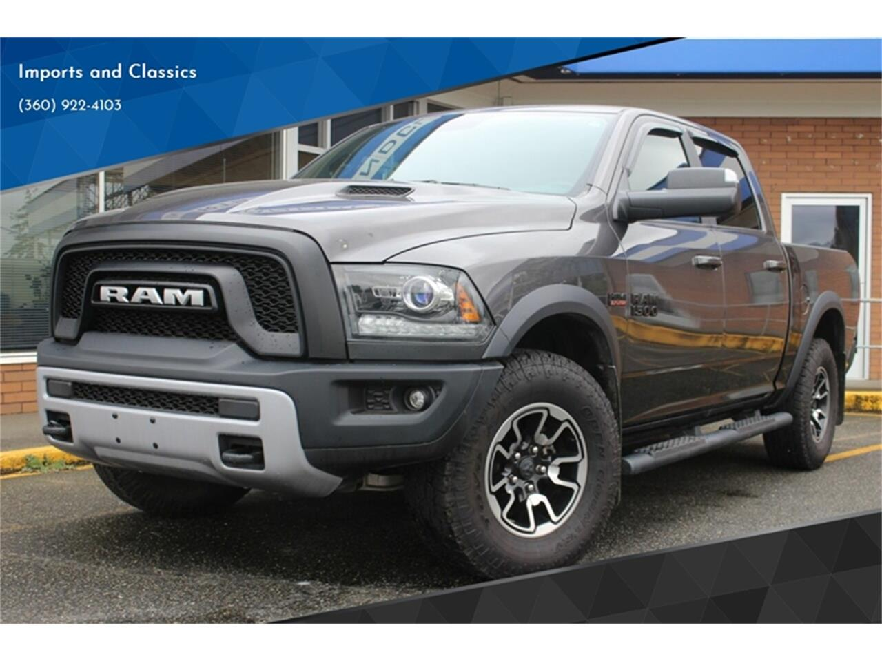 2017 Dodge Ram >> For Sale 2017 Dodge Ram 1500 In Lynden Washington