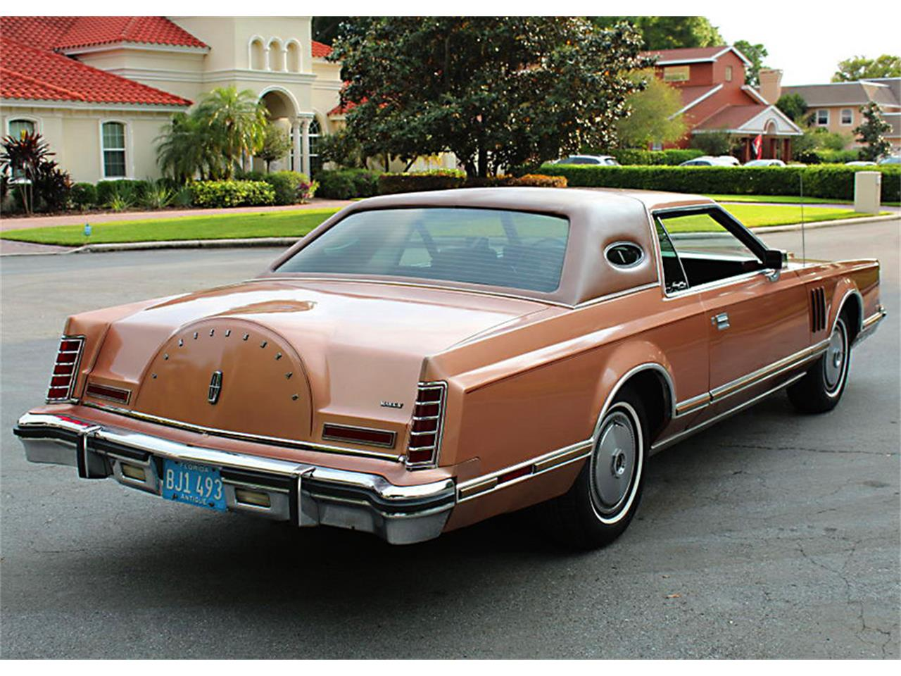 Large Picture of 1978 Lincoln Mark V located in Florida Offered by MJC Classic Cars - PUZN