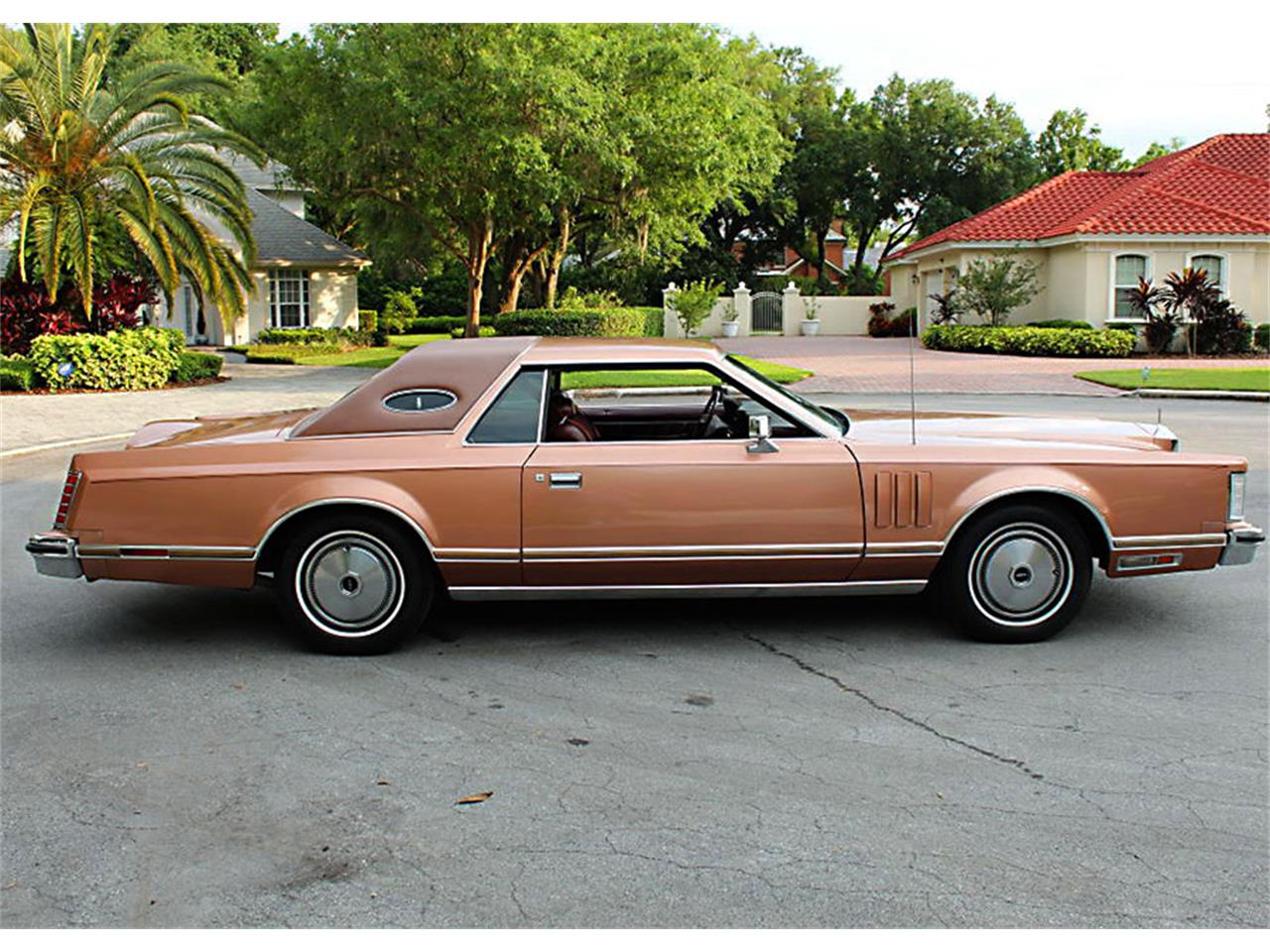 Large Picture of 1978 Lincoln Mark V located in Lakeland Florida - $16,500.00 Offered by MJC Classic Cars - PUZN