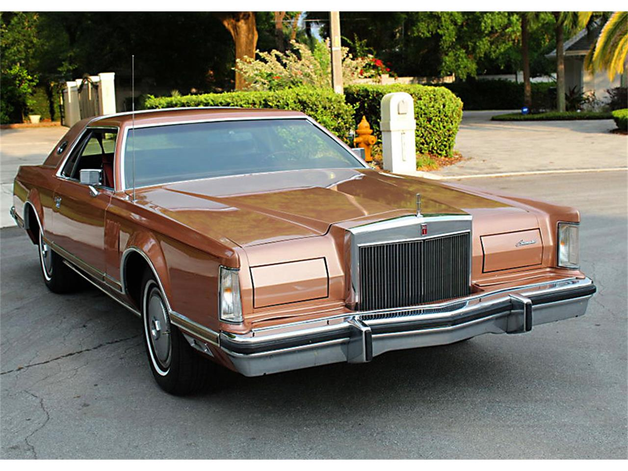 Large Picture of 1978 Lincoln Mark V - PUZN