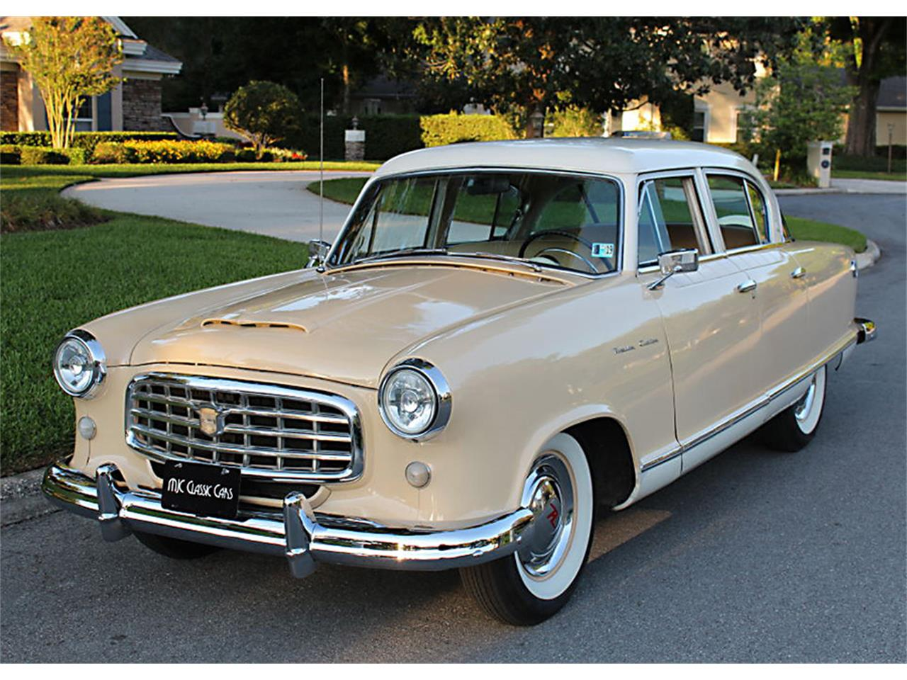 Large Picture of Classic '55 Nash Rambler located in Lakeland Florida Offered by MJC Classic Cars - PUZO