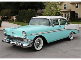 Picture of Classic 1956 Chevrolet Bel Air located in Lakeland Florida Offered by MJC Classic Cars - PUZW